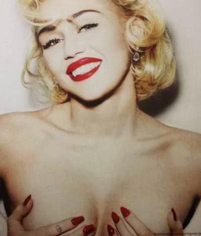 Miley cyrus german vogue 2014 photoshoot 7