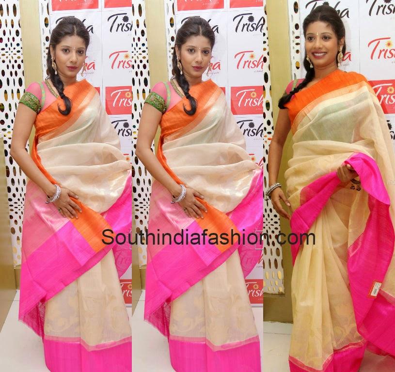 plain silk sarees with borders