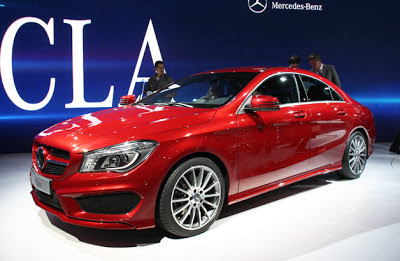 2014 Mercedes-Benz CLA-Class is dressed to impress