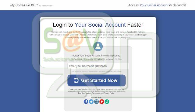 My SocialHub XP - Virus
