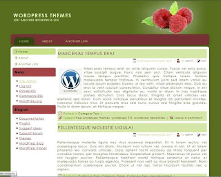 food related wordpress theme