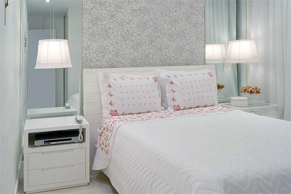 decoracao de apartamentos pequenos quarto casal:Coisas da Kátia: Decoração de Quarto de Casal Pequeno e Simples