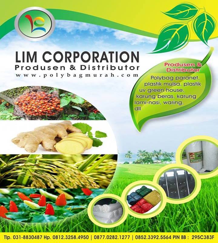 Pabrik & Distributor Plastik Pertanian