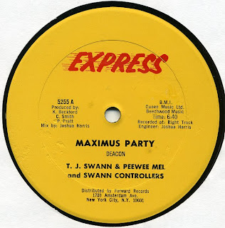 T. J. Swann & Peewee Mel and Swann Controllers - Maximus Party1980 12 Inch