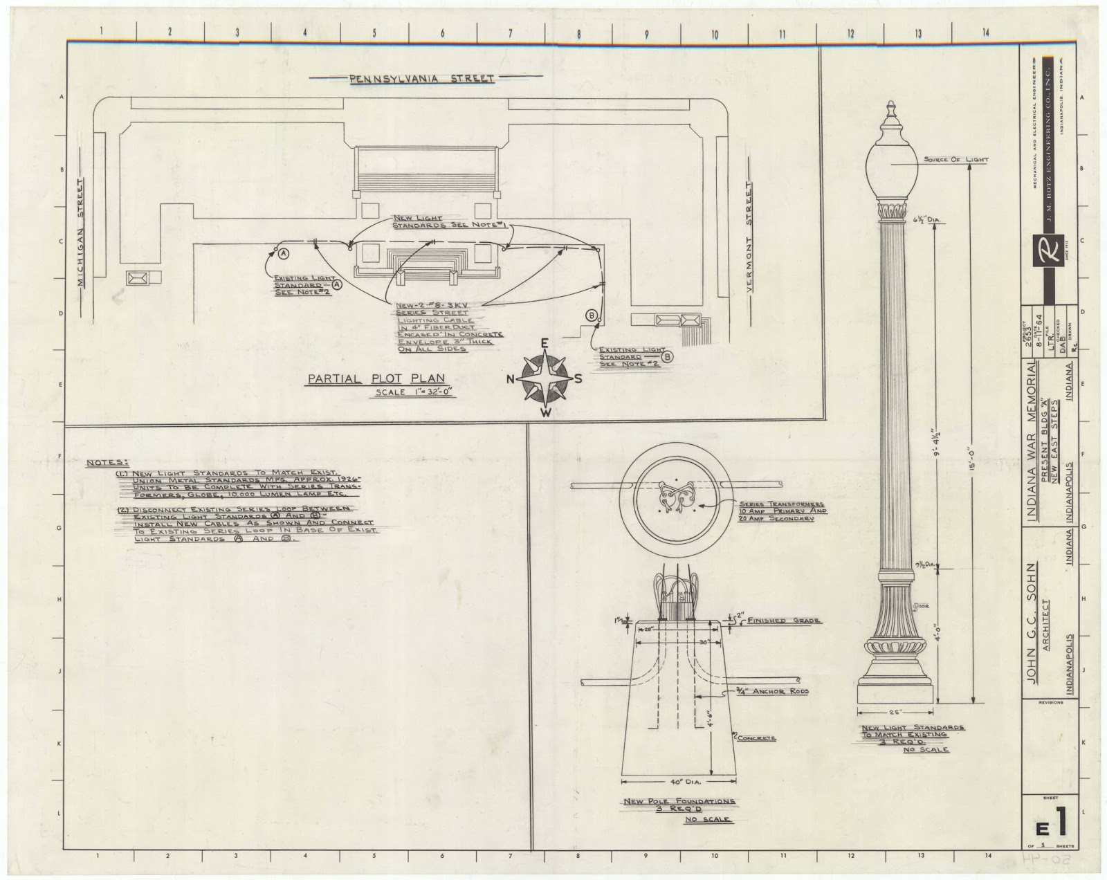 Engineering Plan Set : Drawings documents archive