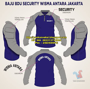 BAJU KAOS BDU SECURITY