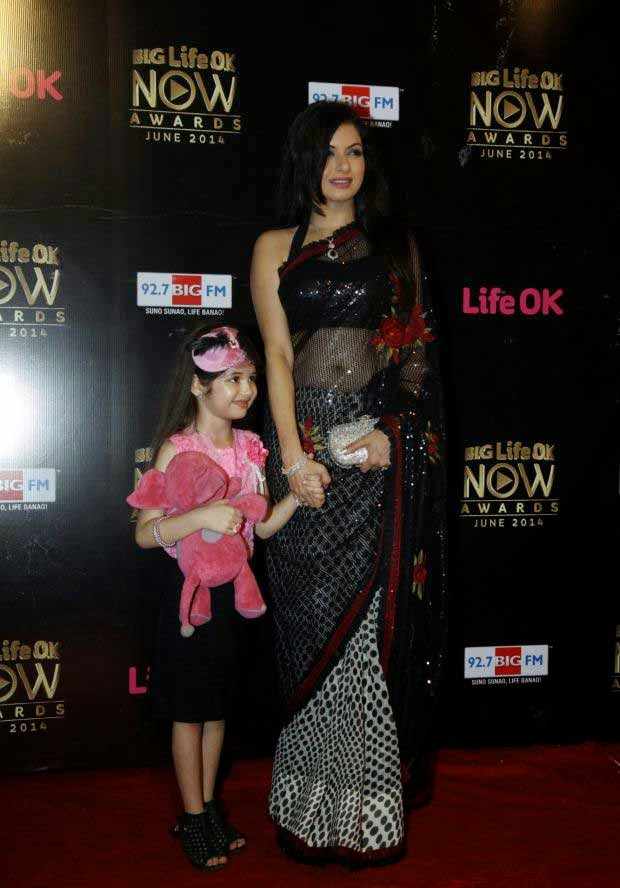 Bhagyashree At Life Ok Now Awards 2014