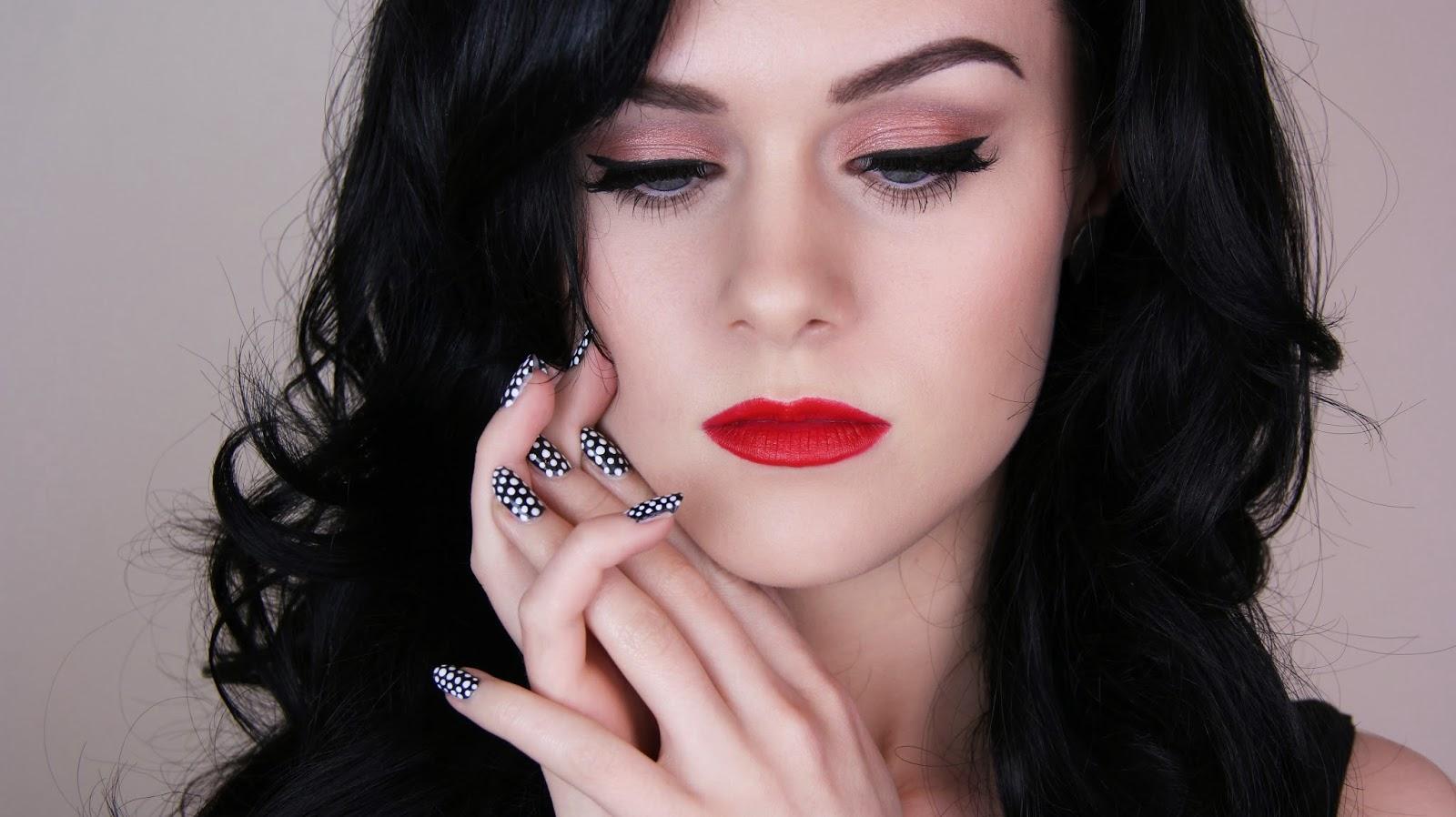 Emma Pickles: Katy Perry Inspired Holiday Look | Makeup, Hair & Nails