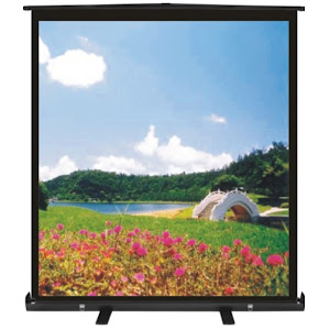FLOOR HANDY ROLL UP SCREEN