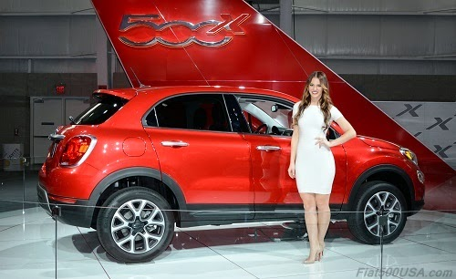 2016 Fiat 500X with Fiat Brand Ambassador Megan Agrusa
