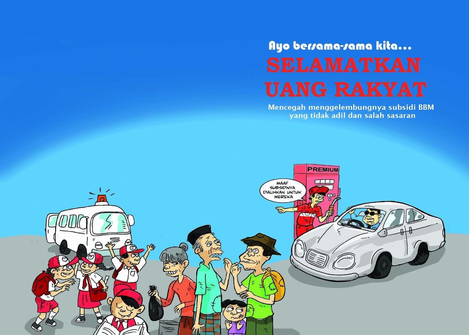 Subsidi orangnya bukan barangnya, Opini Indonesia
