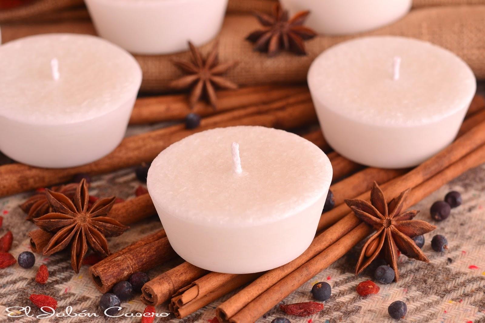 Velas aromaticas regalos para invitados de boda