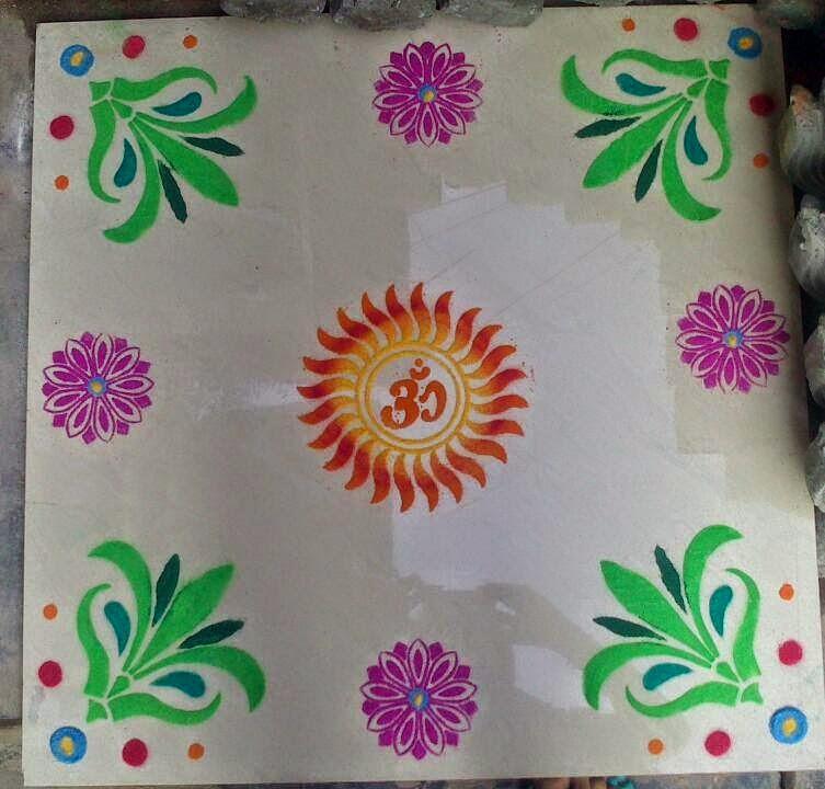 Yojna Kalaskar Kolam Designs 10