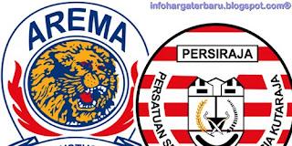 Skor Akhir Arema vs Persiraja | IPL Minggu 3 Juni 2012
