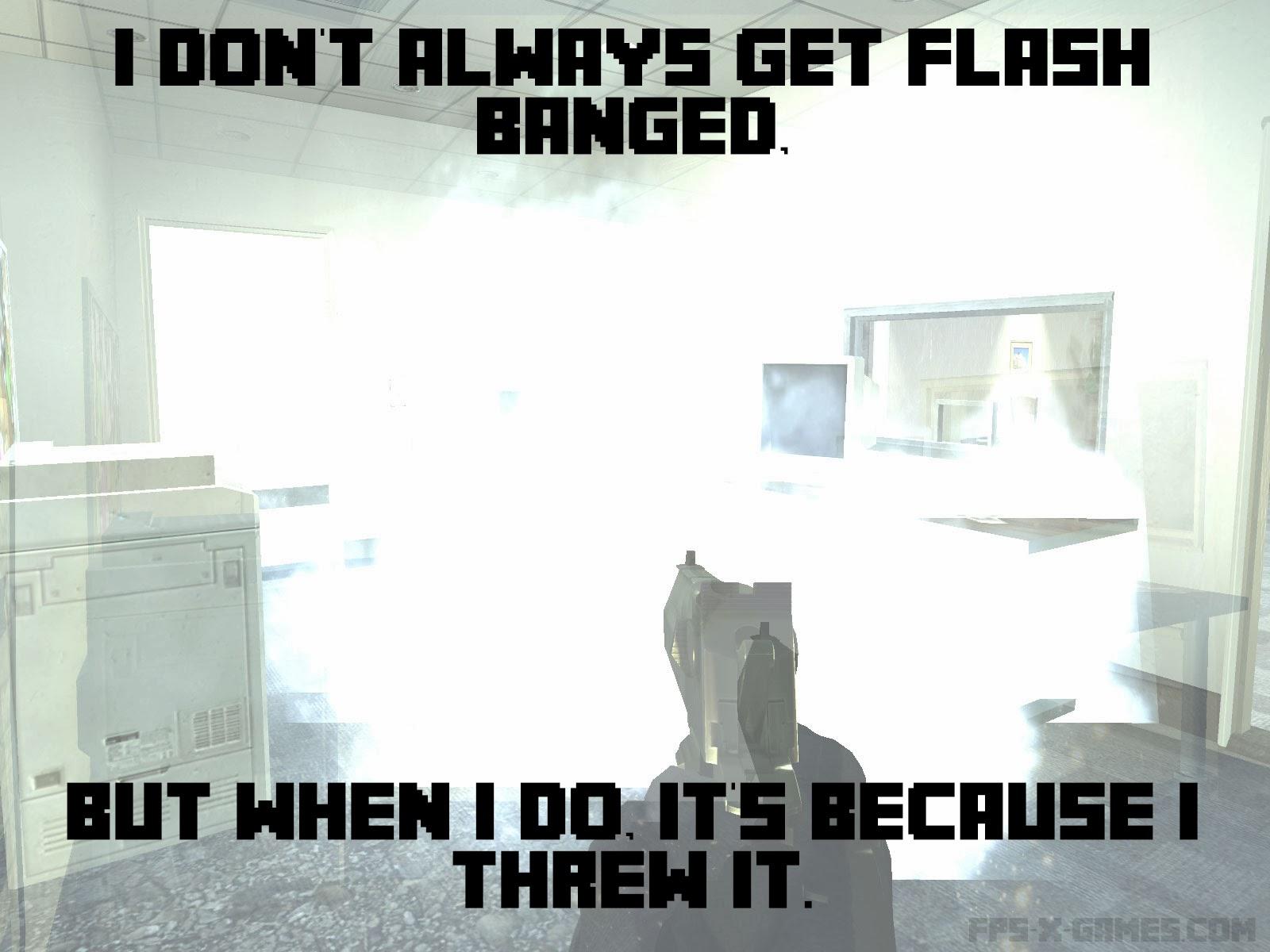 Video Game Flash Banged Meme
