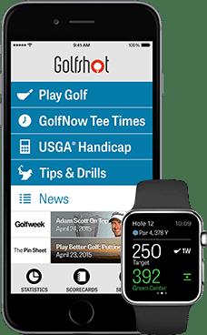 Golfshot, aplicaciones
