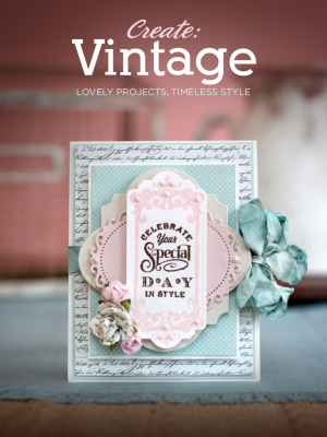 CREATE: Vintage Idea Book ~ Feb. 2014