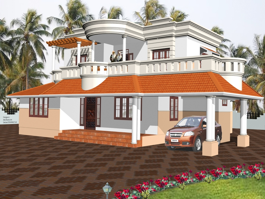 Beautiful perfect house designs roof designs for Perfect house design