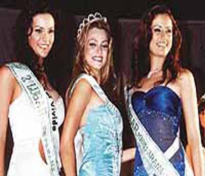 TOP 3 - MISS PARANÁ 2003