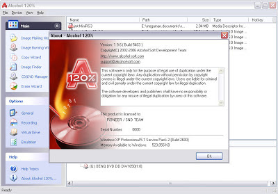 Free Download Alcohol 120% 2.0.2.4713 Full Version + Crack