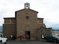 Façana de migdia de l'ermita de Santa Maria de l'Antiguitat