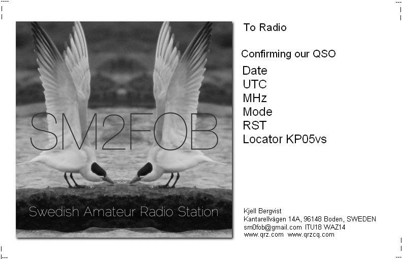 SM0FOB Radio