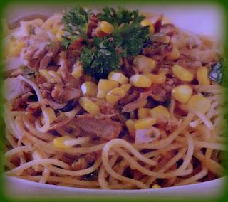 Resep Spaghetti Ikan Tuna Enak