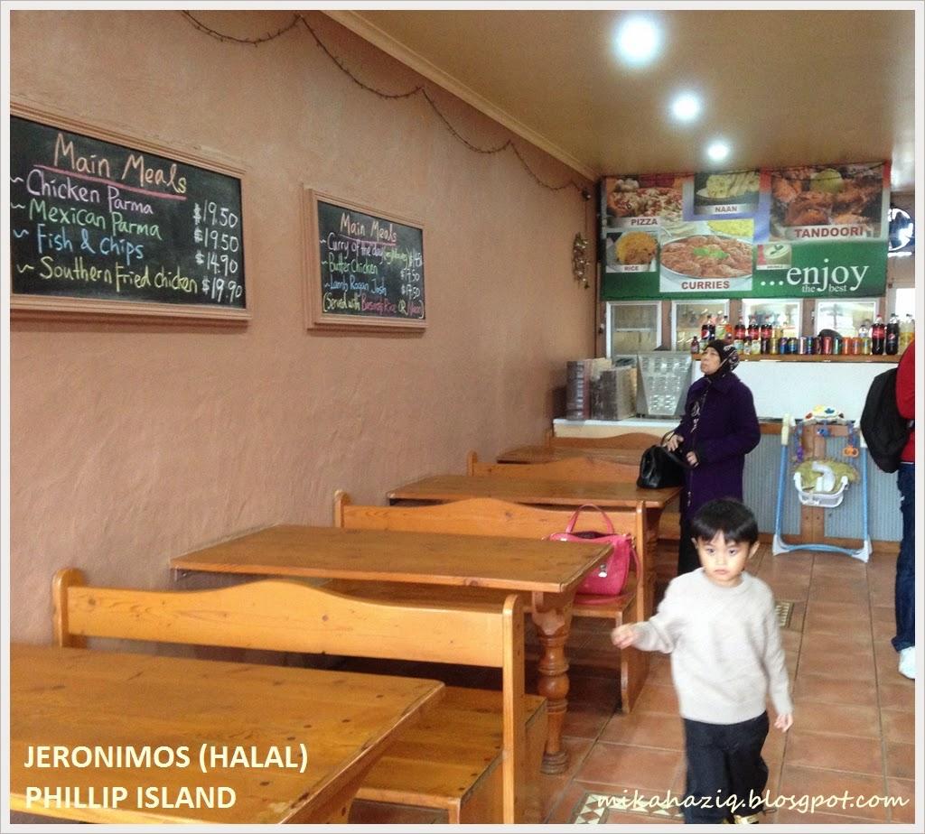 halal restaurant phillip island