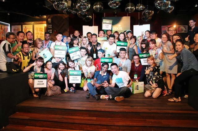 All the bloggers at the Maxis 4G Bloggers Blaze Challenge 2013