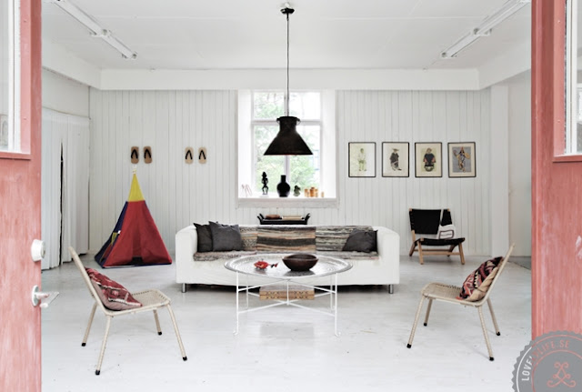 Swedish shop converted to modern house