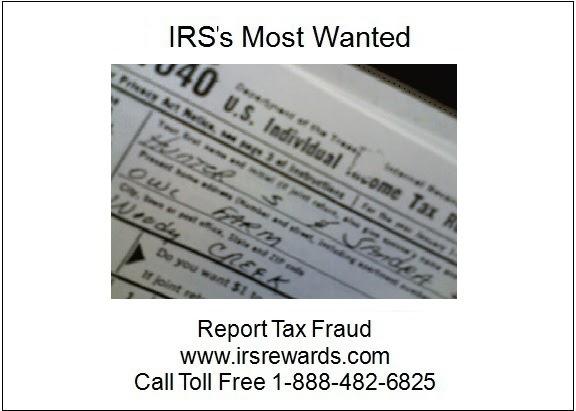 IRS's Most Wanted - Report Tax Fraud: Natalie Wisneski ...