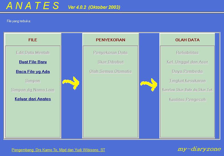 Free Anates Versi 4.0.2 | Drs. Karno To, M.Pd | Yudi Wibisono, ST