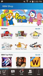 BBM Mod plus Stiker Gratis Versi 2.8.0.21 official Theme