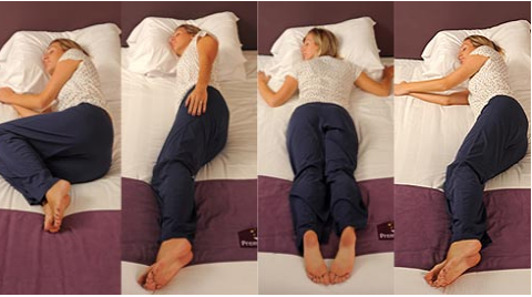 Your sleeping position reveals your true personality