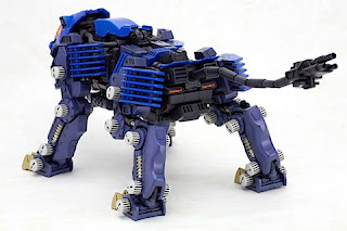 Zoids RZ-007 Shield Liger Van Use