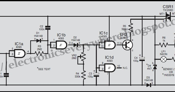 electronics everywhere  time delay touch switch