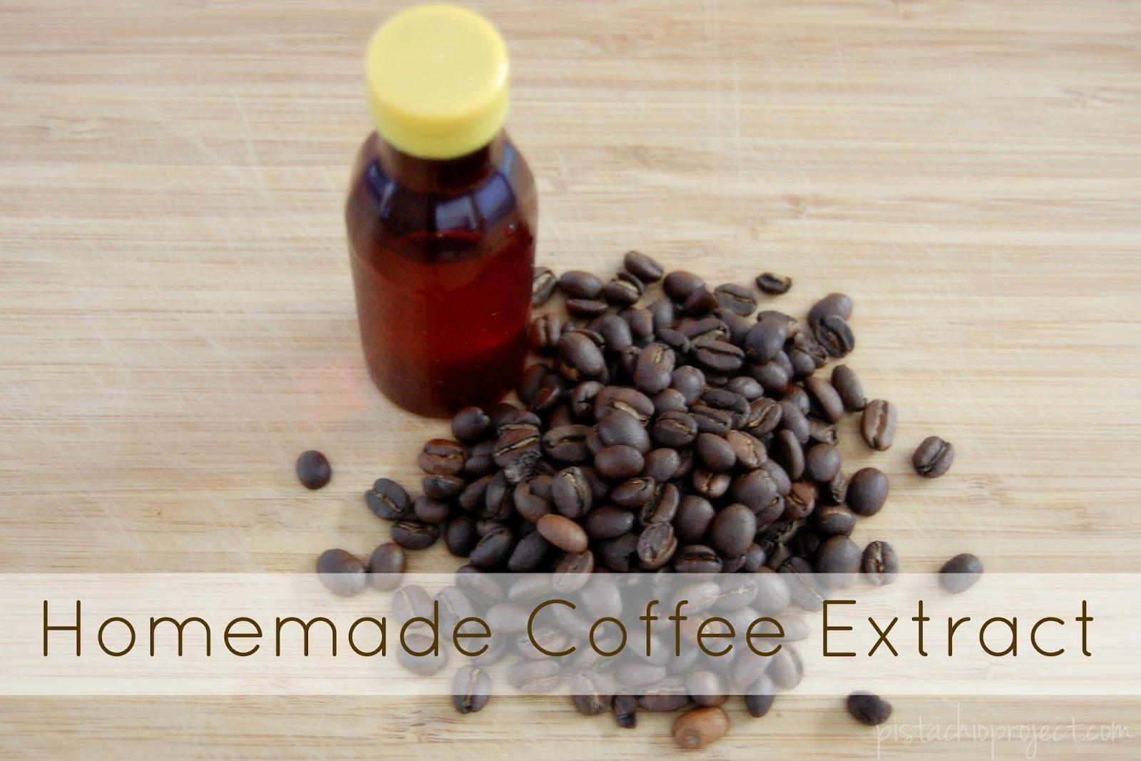 Homemade Coffee Extract
