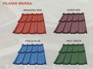 WARNA GENTENG METAL BERLIAN