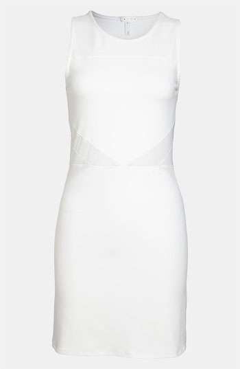 Top 10 Crazy-Cute Little White Dresses For Summer 2013: Leith Body-Con Mesh Dress