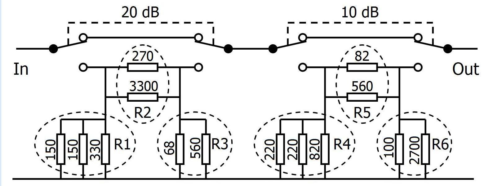 pa1b u0026 39 s qrpp blog  power attenuators for the ft