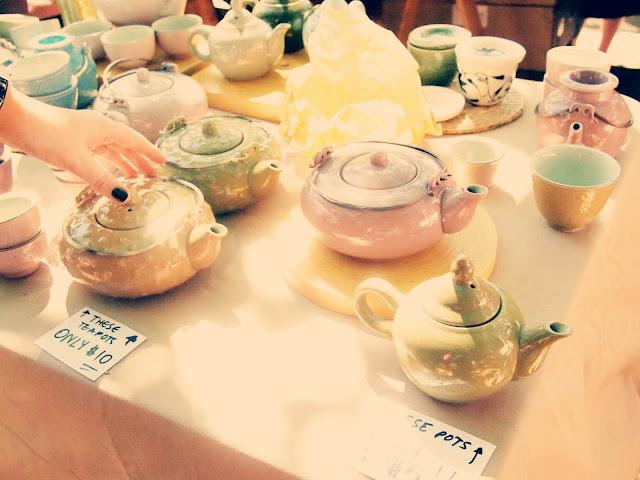 vintage teapots markets