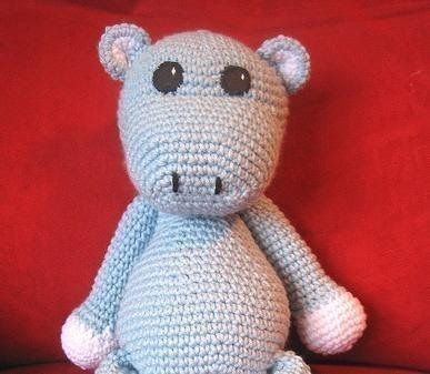 Crochet Pattern Free Hippo : CROCHET N PLAY DESIGNS: Free Crochet Pattern: Hippo