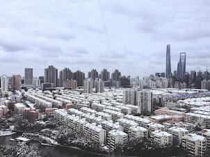 Shanghái nevada. Enero 2018