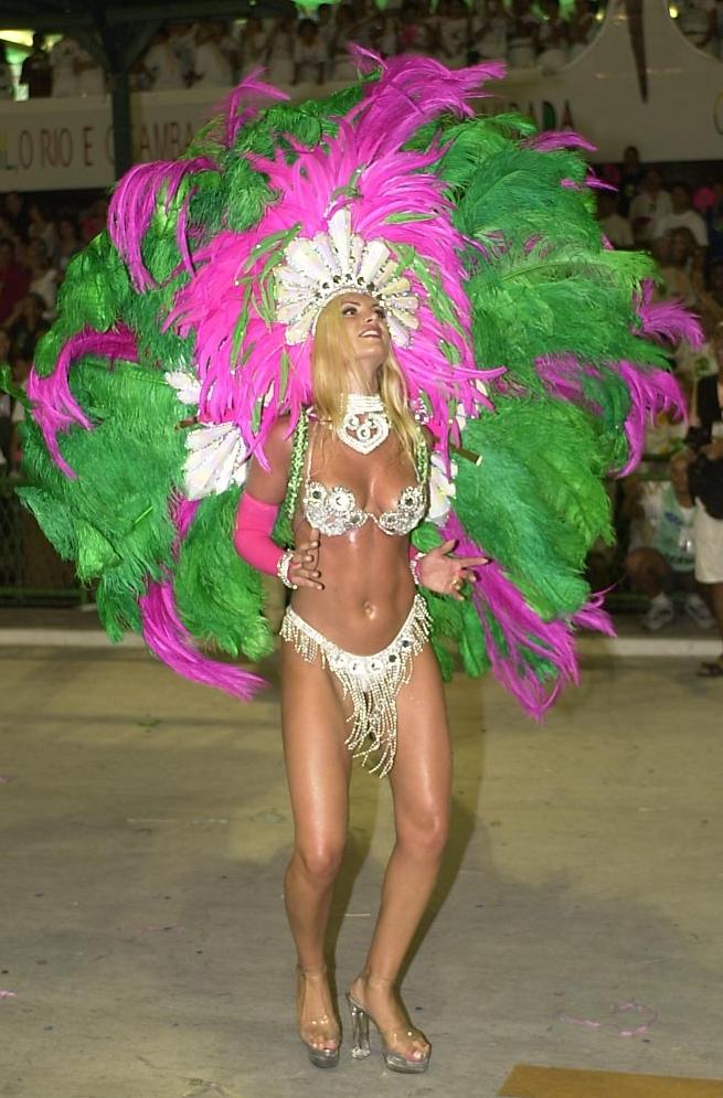 Rio Carnival 2000, Leila Schuster - Miss Brazil 1993