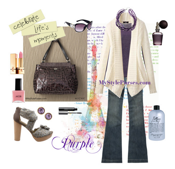 Get Pricing / Order the Miche Rosalyn Prima Shell - Purple Purse