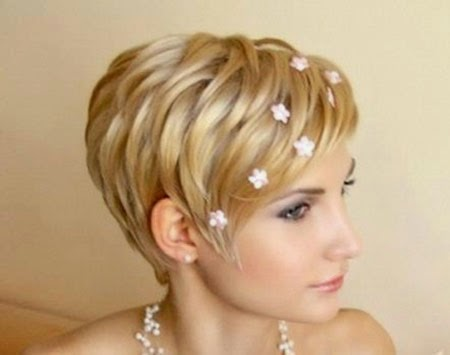 Wedding Hairstyles 2015 For Short Hair