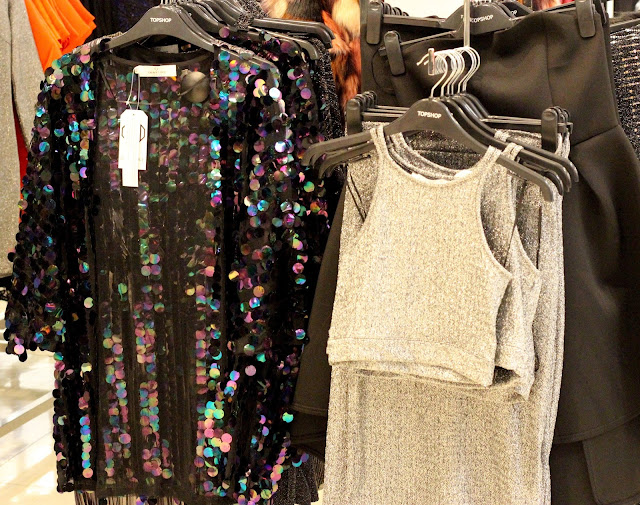 topshop sequin coverup