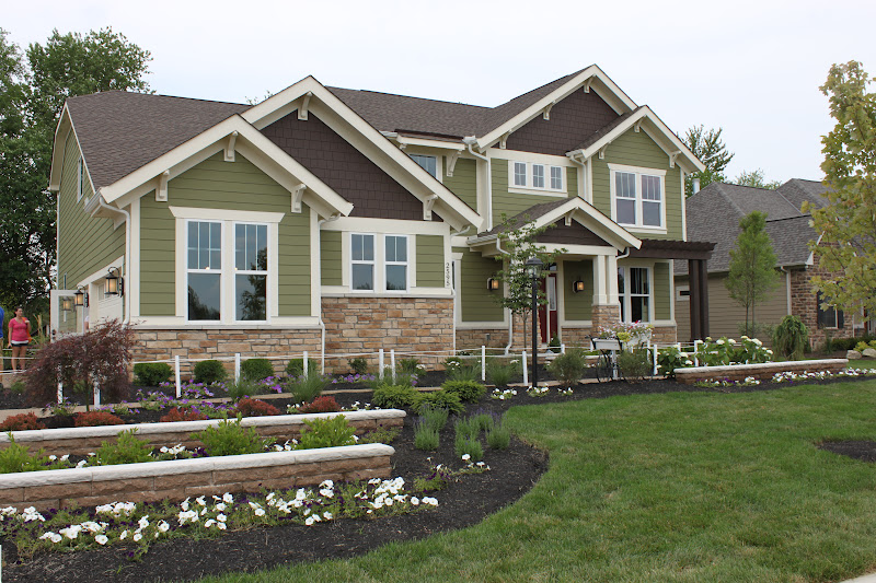 The fat hydrangea parade of homes house 4 Bold house colors
