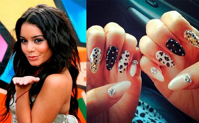 Nail art, Vanessa Hudgens
