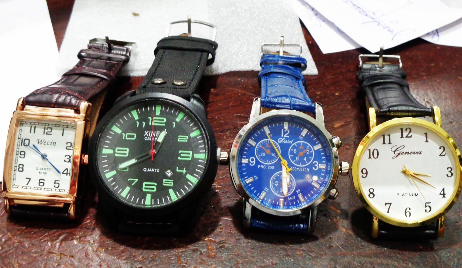 Relojes variados